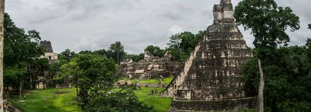 Parque nacional de Tikal imagem de stock royalty free