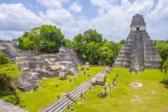 Parque nacional de Tikal Fotos de archivo libres de regalías
