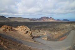 Parque nacional 003 de Timanfaya Imagen de archivo