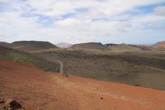Parque nacional 005 de Timanfaya Foto de Stock