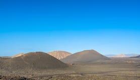 Parque nacional de Timanfaya Lanzarote Fotos de archivo