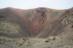 Parque nacional de Timanfaya, Lanzarote, islas de Canaria Imagen de archivo