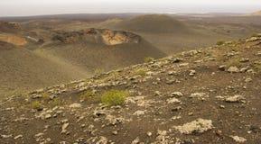Parque Nacional De Timanfaya, Lanzarote, wyspy kanaryjska, Hiszpania Zdjęcia Royalty Free