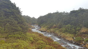 Parque nacional de Tongariro Imagens de Stock Royalty Free