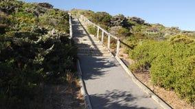Parque nacional de Torndirrup, costa sul australiana ocidental de Albany, Austrália Ocidental imagens de stock