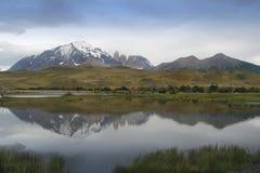 Parque nacional de Torres Del Paine Foto de archivo