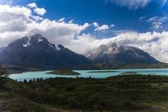 Parque nacional de Torres del Paine Fotografía de archivo libre de regalías