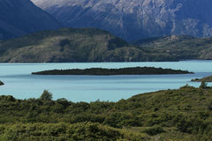 Parque nacional de Torres del Paine Imagen de archivo libre de regalías