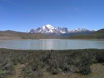 Parque nacional de Torres del Paine, Chile Foto de archivo libre de regalías