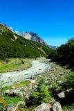 Parque nacional de Torres del Paine, o Chile Imagens de Stock Royalty Free