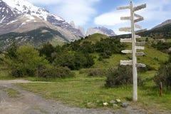 Parque nacional de Torres del Paine, Patagonia chilena, Chile Imágenes de archivo libres de regalías