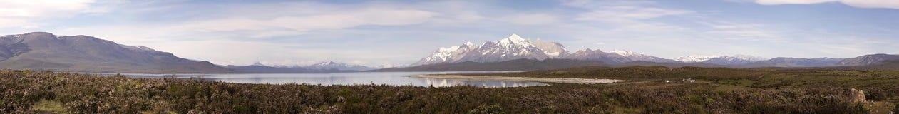 Parque nacional de Torres del Paine, Patagonia chileno, o Chile Imagem de Stock