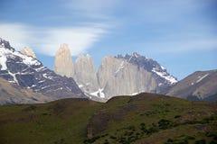 Parque nacional de Torres del Paine, Patagonia chileno, o Chile Fotos de Stock