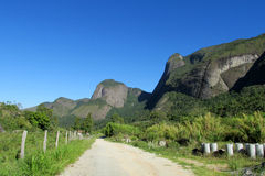 Parque nacional de Tres Picos, el Brasil Fotos de archivo libres de regalías