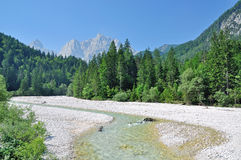 Parque nacional de Triglav, Eslovenia Imágenes de archivo libres de regalías