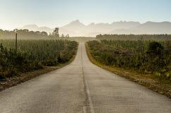 Parque nacional de Tsitsikamma, ruta del jardín, el Océano Índico, Suráfrica Foto de archivo libre de regalías