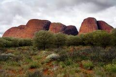 Parque nacional de Uluru-Kata Tjuta Imagens de Stock Royalty Free