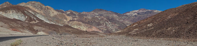 Parque nacional de Vale da Morte Foto de Stock Royalty Free