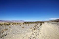 Parque nacional de Vale da Morte - dunas de areia pequenas foto de stock