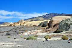 Parque nacional de Vale da Morte - ponto de Zabriskie Fotografia de Stock