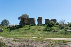 Parque nacional de visita de Ashkelon Fotografia de Stock Royalty Free
