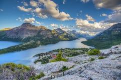 Parque nacional de Waterton Fotografia de Stock Royalty Free