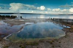 Parque nacional de Yellowstone Fotos de Stock Royalty Free