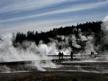 Parque nacional de Yellowstone Fotos de archivo libres de regalías