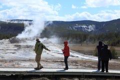 Parque nacional 10 de Yellowstone Imagens de Stock Royalty Free