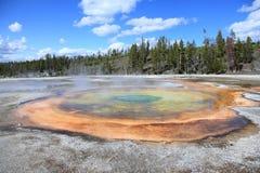 Parque nacional 9 de Yellowstone Imagens de Stock