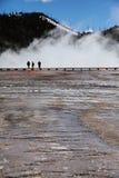 Parque nacional 7 de Yellowstone Foto de Stock