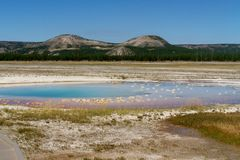 Parque nacional de Yellowstone Foto de Stock Royalty Free