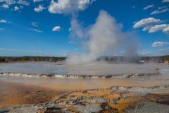 Parque nacional de Yellowstone Foto de Stock Royalty Free