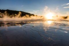 Parque nacional de Yellowstone fotografia de stock royalty free