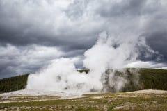 Parque nacional de Yellowstone, Utah, los E.E.U.U. Imagen de archivo libre de regalías
