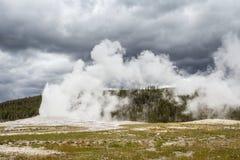 Parque nacional de Yellowstone, Utah, los E.E.U.U. Imágenes de archivo libres de regalías