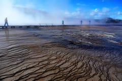 Parque nacional de Yellowstone, Wyoming, Estados Unidos Imagens de Stock Royalty Free