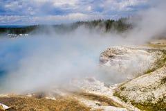 Parque nacional de Yellowstone, Wyoming, los E Fotos de archivo