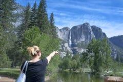 Parque nacional de Yosemite Fotografia de Stock