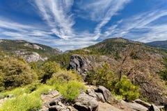 Parque nacional de Yosemite, Califórnia, Estados Unidos Fotografia de Stock Royalty Free