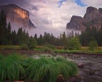 Parque nacional de Yosemite en California fotos de archivo