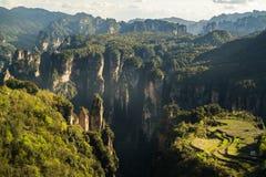 Parque nacional de Zhangjiajie Fotografía de archivo