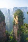 Parque nacional de Zhangjiajie em Hunan, China imagem de stock