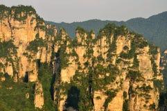 Parque nacional de Zhangjiajie en Hunan, China Imagen de archivo libre de regalías