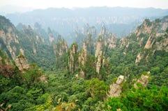 Parque nacional de Zhangjiajie en Hunan, China Imagen de archivo