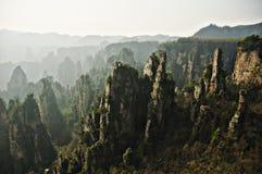 Parque nacional de Zhangjiajie, porcelana foto de stock royalty free