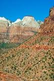 Parque nacional de Zion Imagenes de archivo