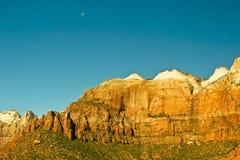 Parque nacional de Zion Fotografía de archivo libre de regalías