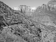 Parque nacional de Zion Fotografía de archivo