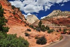 Parque nacional de Zion Imagens de Stock Royalty Free